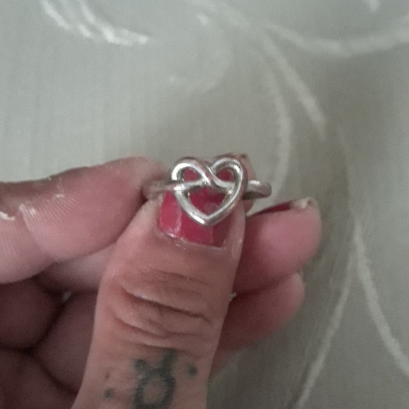 unknown Jewelry - Sterling silver heart celtic ring